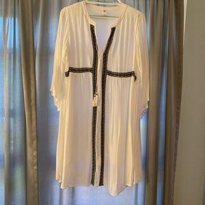 White Gauzy Old Navy Boho Dress